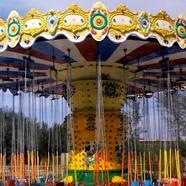 大洋游乐设备24座旋转升降豪华飞椅 大型户外游乐飓风飞椅报价