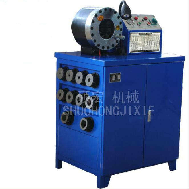 常德壓管機 油管縮管機 鋼絲繩扣壓機 膠管扣管機 高壓膠管啤候機碩宏機械
