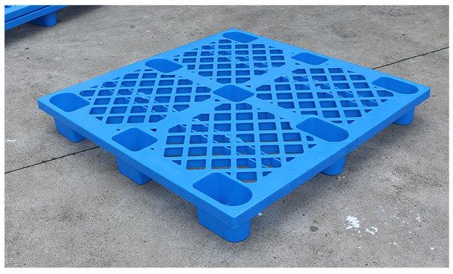 湖北1010轻型网格九脚塑料托盘仓库垫板地仓板垫仓板叉车栈板托盘