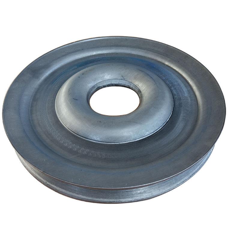 厂家直销熟铁轮单槽劈开式皮带轮尺寸精准外观精致质量保证示例图3