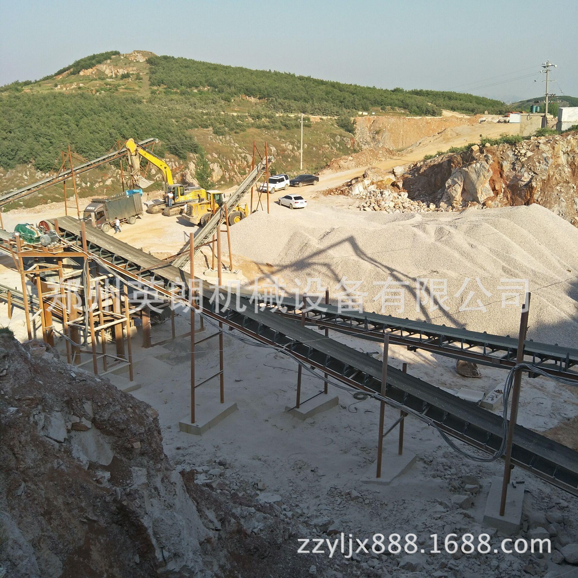 供应矿山石料开采破碎生产线 建筑青石子破碎线 鹅卵石制沙生产线示例图11