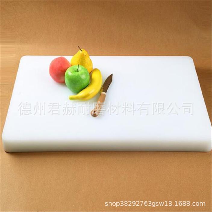 厨房案板垛肉板 无毒无味菜板不掉渣加厚菜墩 砧板可按尺寸定做示例图1