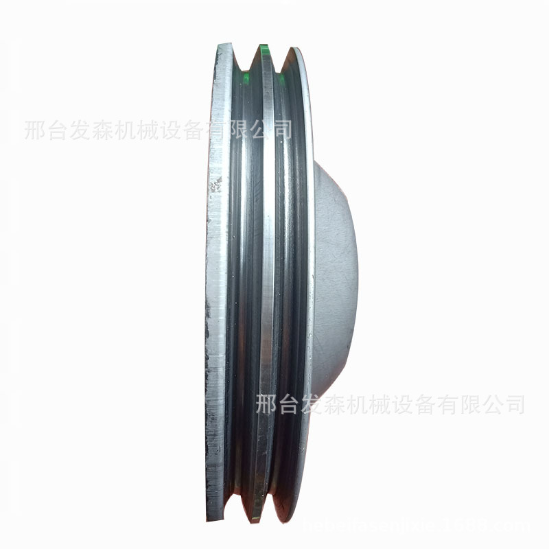 厂家直销旋压皮带轮双槽轮机械专用示例图3