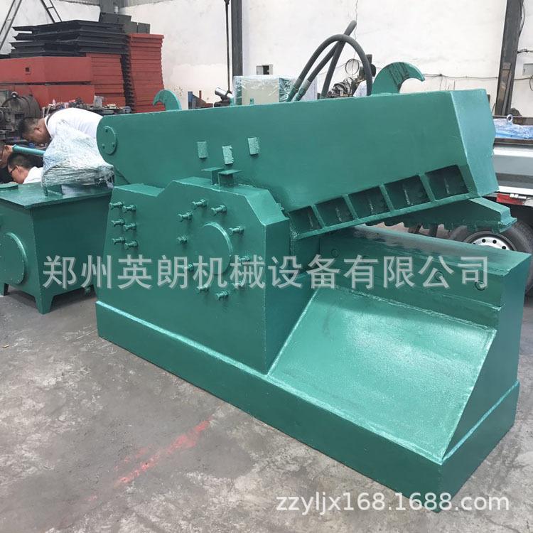 报废汽车鳄鱼剪 重型金属废料废铁剪切机 高压力200吨废钢剪断机示例图10
