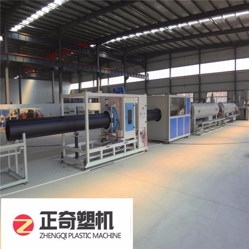 萊蕪正奇PE塑料管材擠出設備生產線