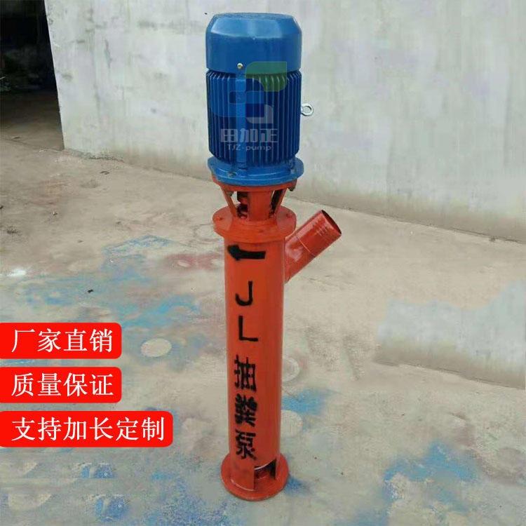 廠家支持定制 耐磨加厚絞龍泵,高濃度蛟龍泵,養殖場立式排污泵,無堵塞化糞池抽糞泵