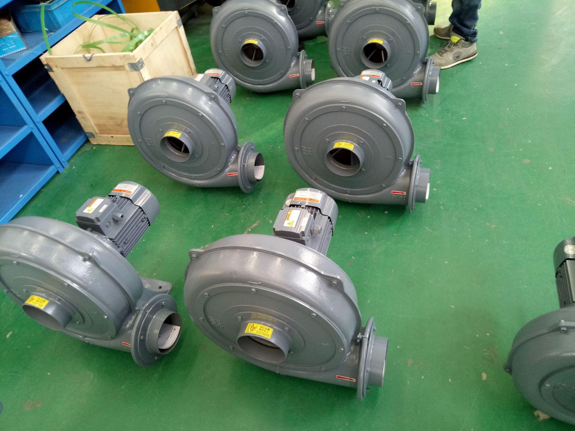 TB150-10  7.5KW透浦式鼓風機 燃燒機專用鼓風機 耐高溫中壓風機示例圖12