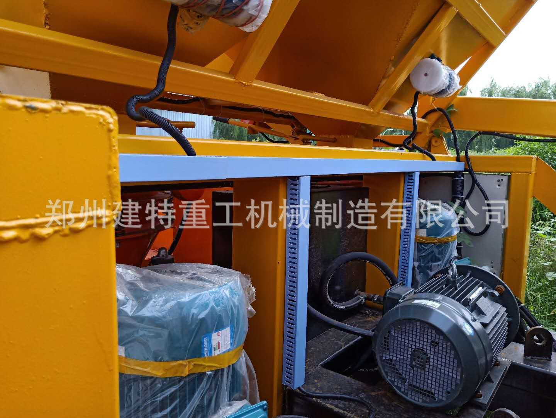 天水厂家直销一拖二混凝土喷浆车 自动上料喷浆车 喷浆设备示例图11