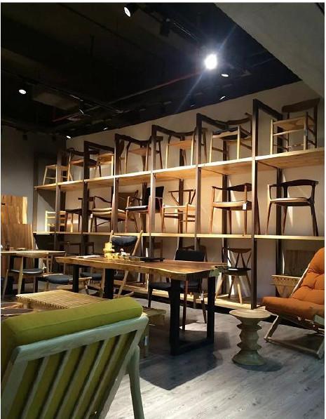 南美胡桃木实木大板餐桌胡桃木原木家具餐桌 南美花梨实木餐桌椅示例图28