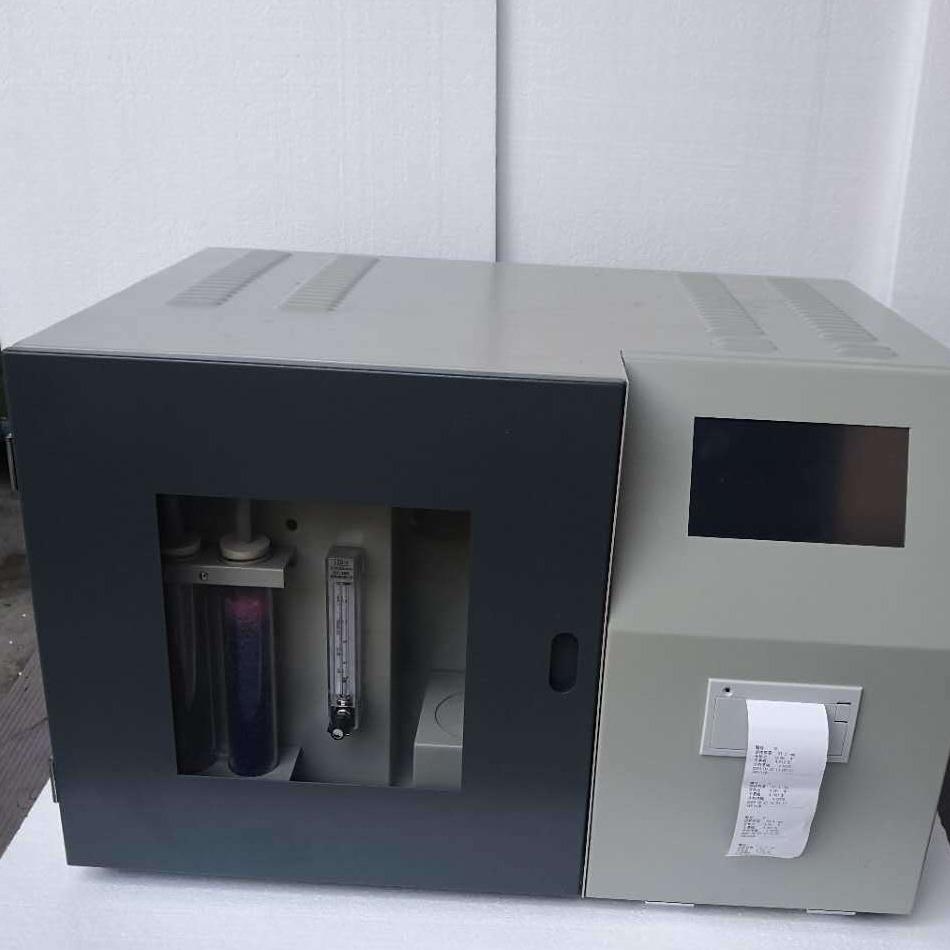 創研測流儀,觸控智能測硫儀CYHL-8A,檢測煤炭含硫量的儀器,螢石測硫儀
