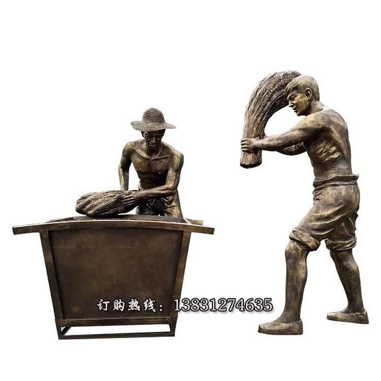供应民俗文化雕塑 河北农耕人物雕塑可定制 民俗雕塑厂家厂家定制唐韵雕塑