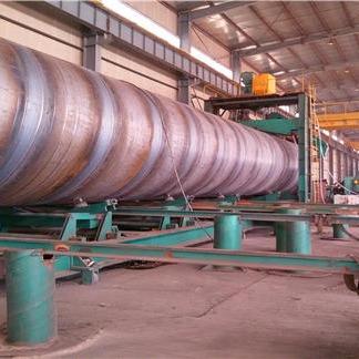 热轧螺旋钢管的焊接工艺