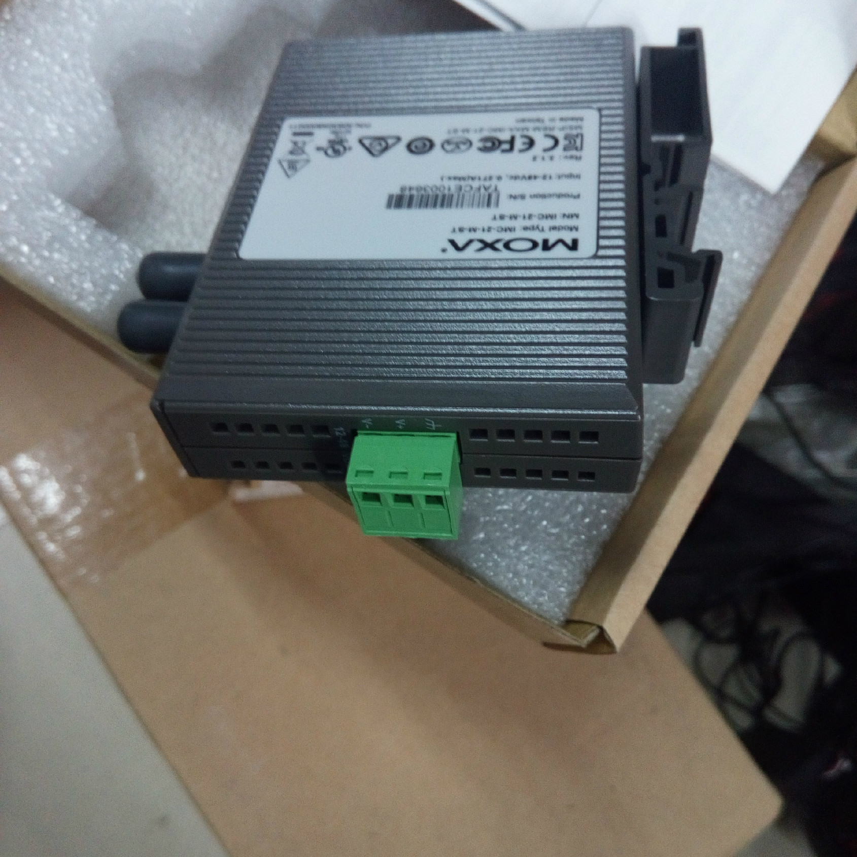 moxa 工业级光收发器100M接口st sc 型号ma21示例图4