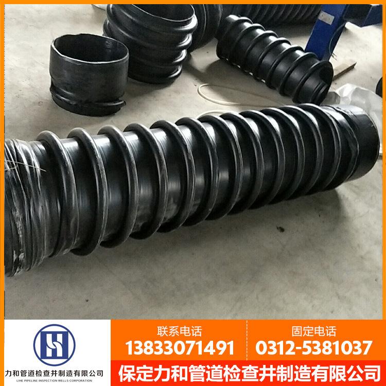 聚乙烯B型结构壁管材 排污克拉管 hdpe增强结构壁缠绕管示例图9