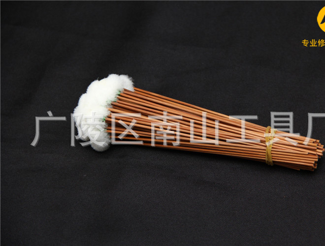 采耳掏耳工具 挖耳勺手工 老棕竹鹅毛棒小头示例图7