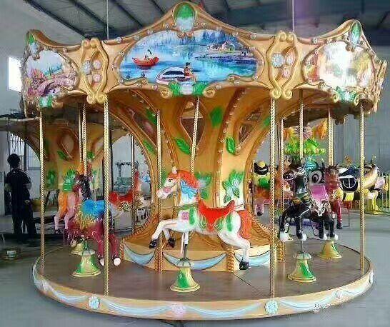 2020儿童游乐场游乐设备16座豪华转马精品推荐旋转木马大洋供应商示例图13