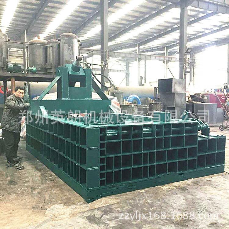 厂家直供废金属液压打包机 废铁铝压块机 卧式金属成型机示例图13