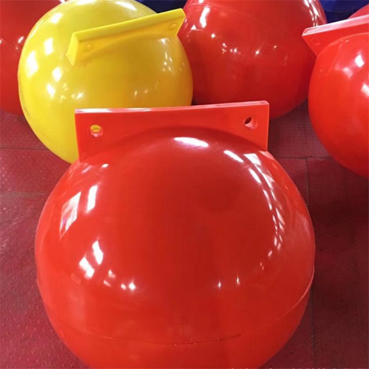 拦截浮球 三亚海滩浴场挂网拦鲨 拦截浮球 环海塑料