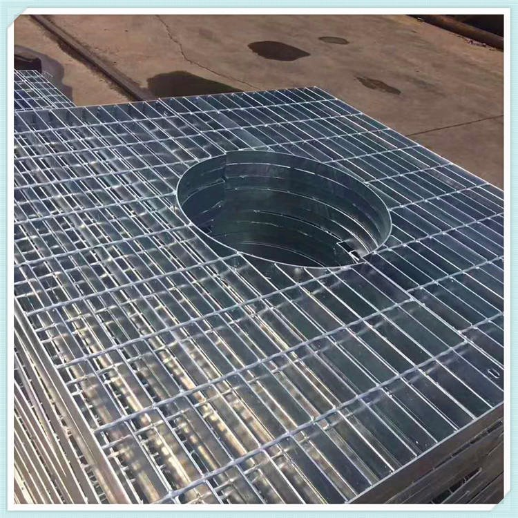 鋼格板多規格定做成品現貨批發平臺樓梯溝蓋工業用鋼格柵