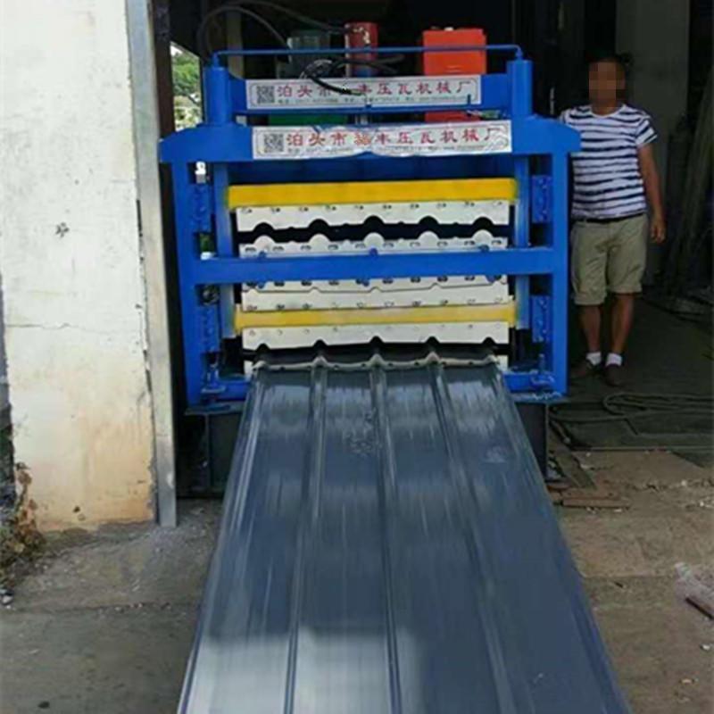 現貨全國供應 三層壓瓦機 800琉璃瓦壓瓦機 專業壓瓦機設備生產廠家