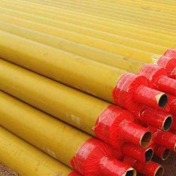 龍都管道直銷 聚乙烯保溫管 黑夾克保溫管 聚氨酯保溫管 預制直埋保溫管