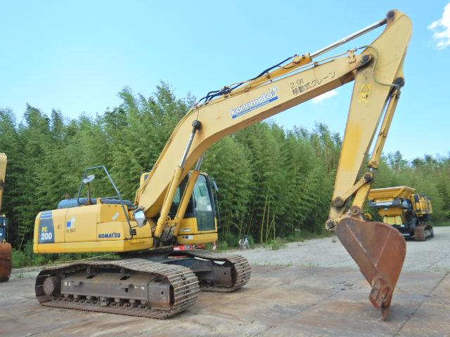 二手大型挖掘机是市场价格 小松200进口二手挖掘机低价转让示例图3