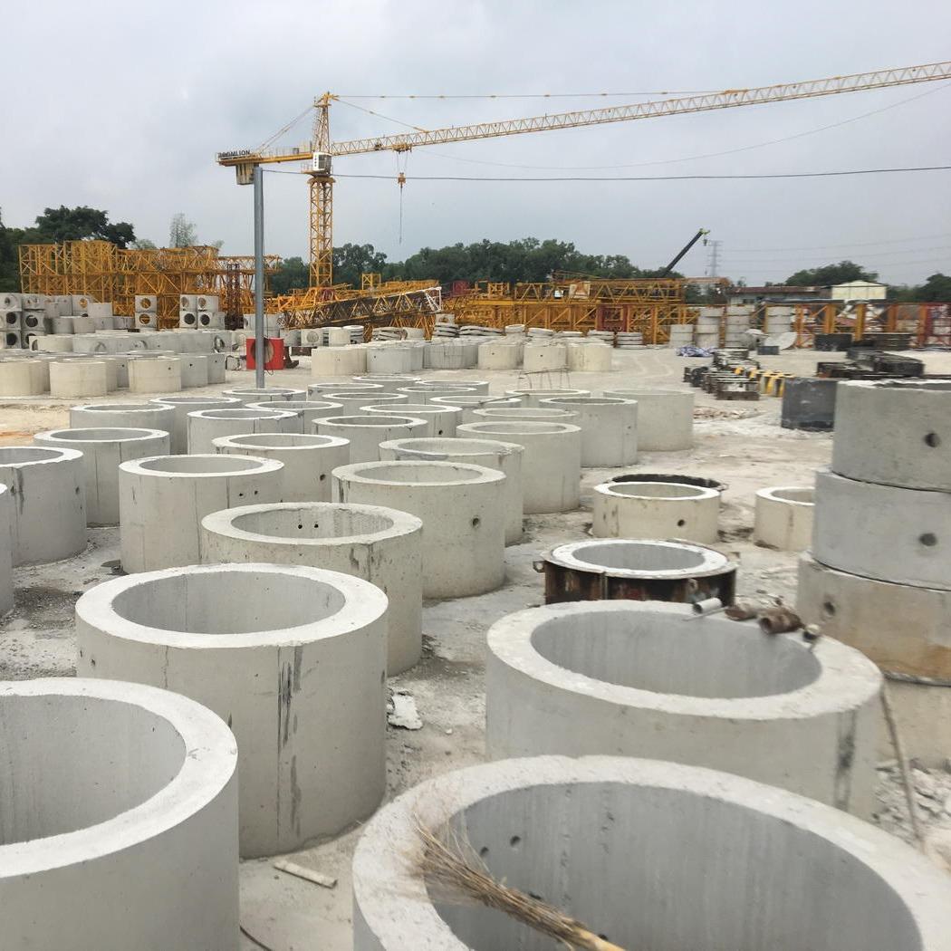广州天河预制检查井,污水井底座井筒盖板,厂家直销