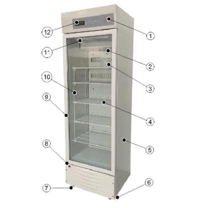 药品冷藏箱 博科BIOBASE单开门2-8度药品冰柜价格示例图3