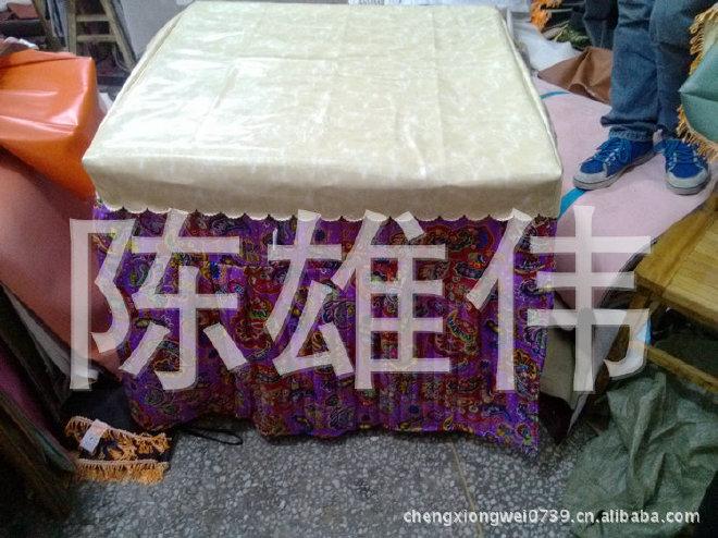 热销推荐防水皮革桌布 田园皮革桌布 pvc皮革桌布示例图4