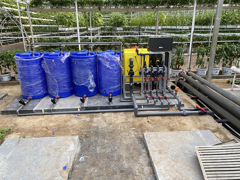 圣大节水 温室建设水肥一体化设备 灌溉施肥水肥一体机 厂家供应水溶肥施肥机示例图21
