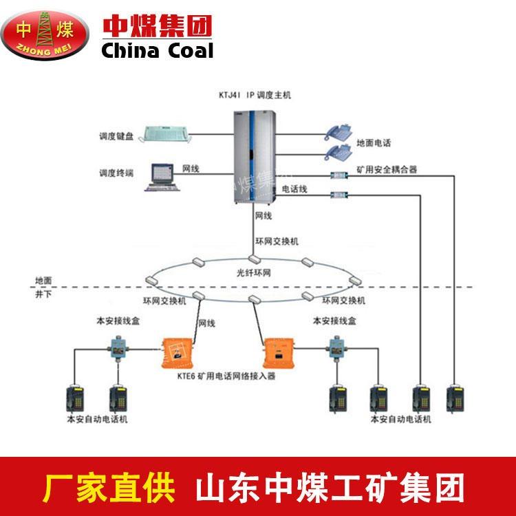 IP网络内部通信系统供货商 中煤销售矿用IP网络内部通信系统