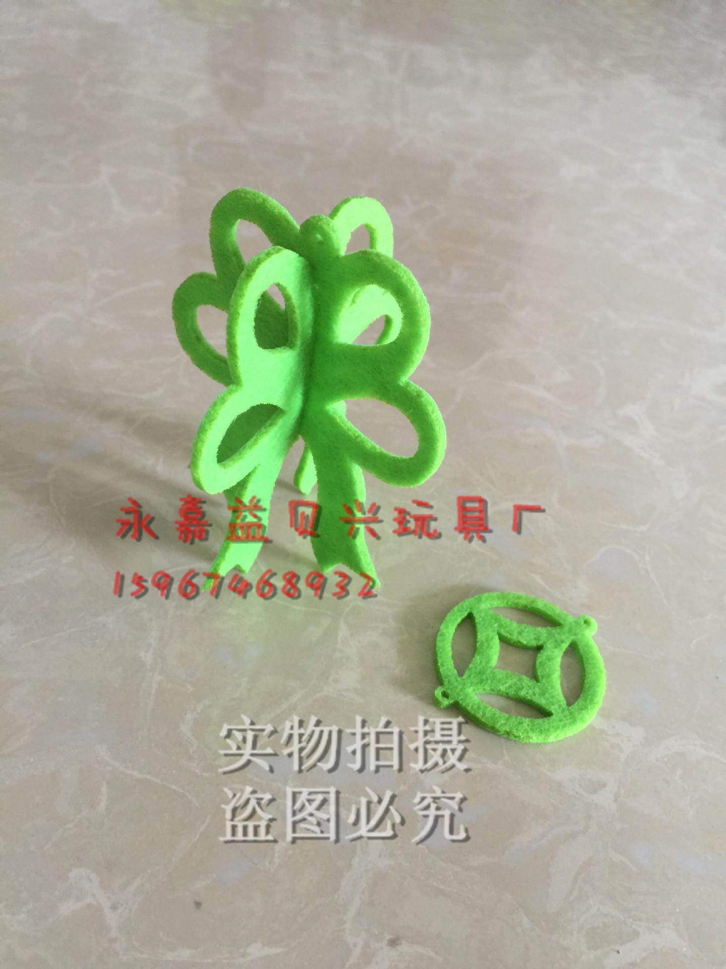 无纺布扇子吊饰幼儿园走廊创意空中挂饰室内布置 悬挂 中国风示例图5