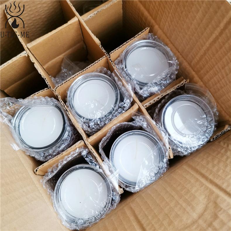 厂家直销无烟环保清香宗教玻璃瓶蜡烛 9天玻璃瓶教堂蜡烛烛台示例图6