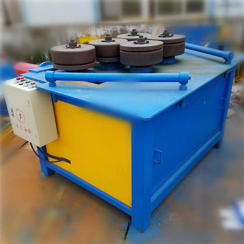 角钢内外卷成型机生产厂家 南京诺曼角铁弯圆机