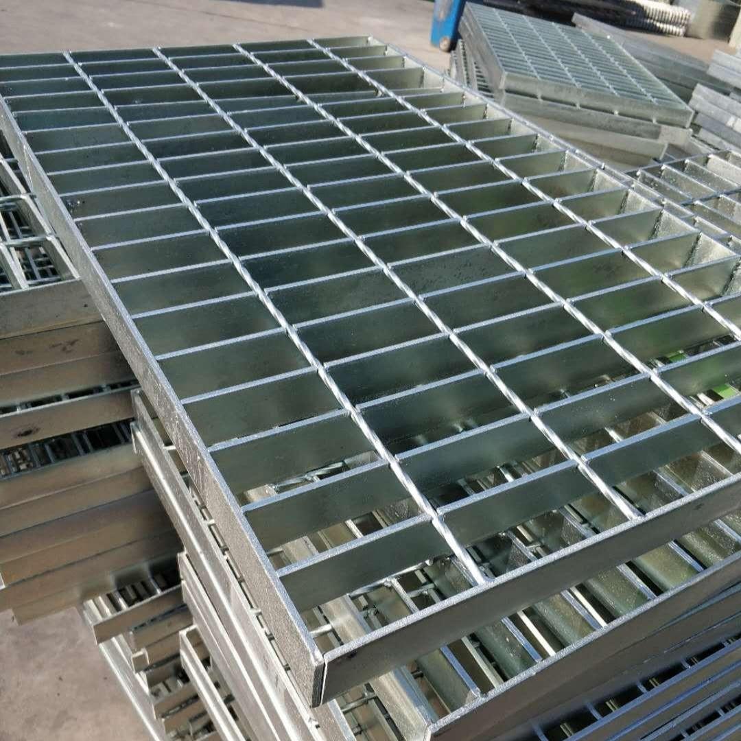 貴泰熱鍍鋅鋼格板地網格板溝廠家直銷 鍍鋅溝蓋板 平臺鋼格柵板批發