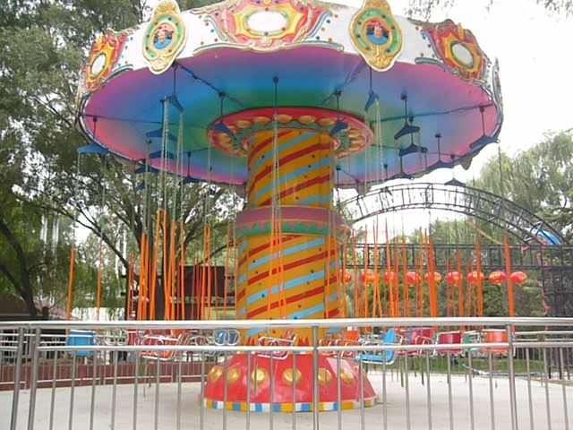 2020大洋飓风飞椅儿童游乐设备 公园旋转升降24座豪华飞椅游乐项目游艺设施厂家示例图18