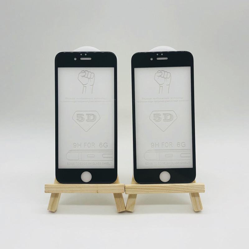 iPhone65D鋼化膜 冷雕鋼化膜 蘋果6plus全屏鋼化膜 蘋果曲面膜i6