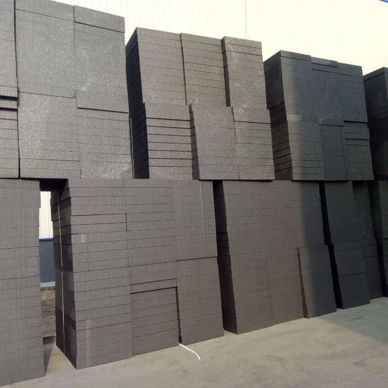 石墨聚苯板 B1級石墨模塑聚苯乙烯泡沫塑料板 葉格批發圖片