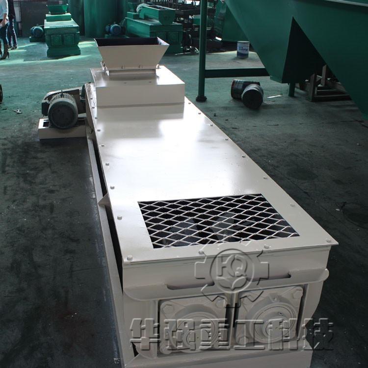 鄭州華強 復合肥生產線成本低 質量好 雙軸攪拌機  使用壽命長