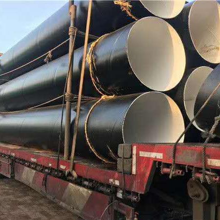 廠家供應環氧煤瀝青防腐鋼管 三油兩布防腐鋼管 三油五布防腐鋼管