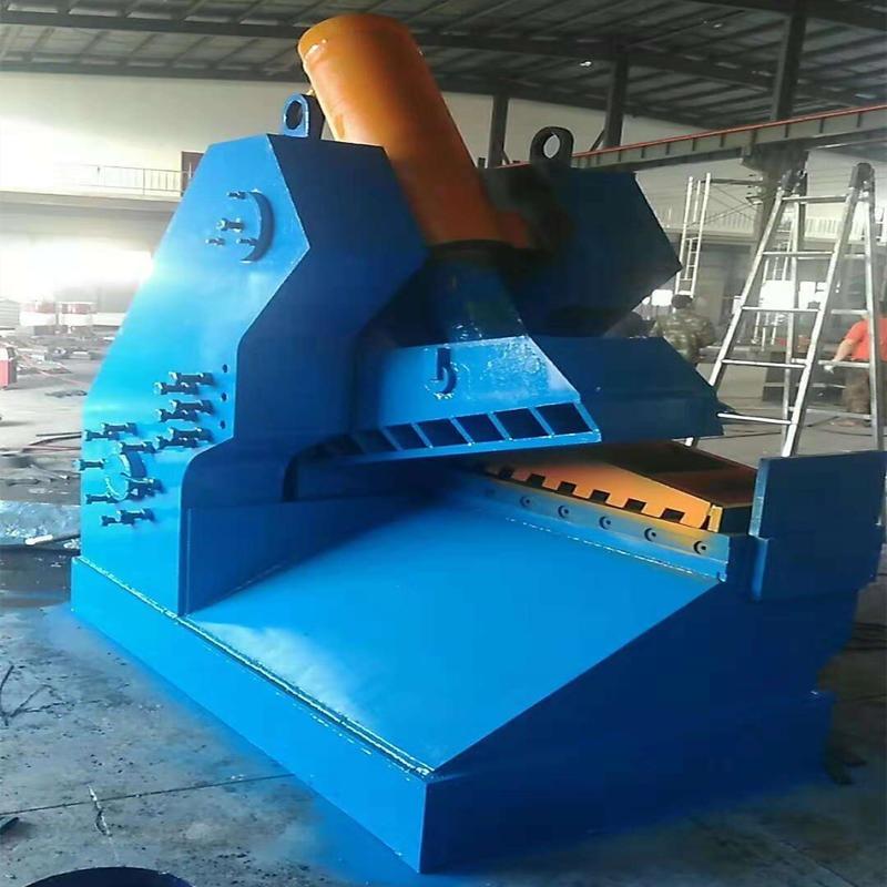 廢鋼板廢鐵皮剪斷機 信航450噸廢鋼板廢鐵皮剪斷機 適用范圍廣