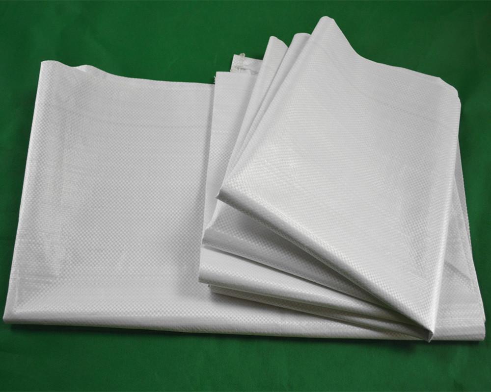 加厚粮食袋子  白色加厚编织袋  白糖袋子  白色半透纯新料编织袋60110加厚耐磨粮食家纺包装袋白糖袋子包装
