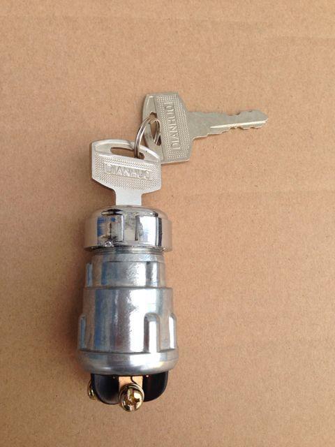 厂家直销汽车电动汽车农用四轮三轮车JK423钥匙点火开关电门锁