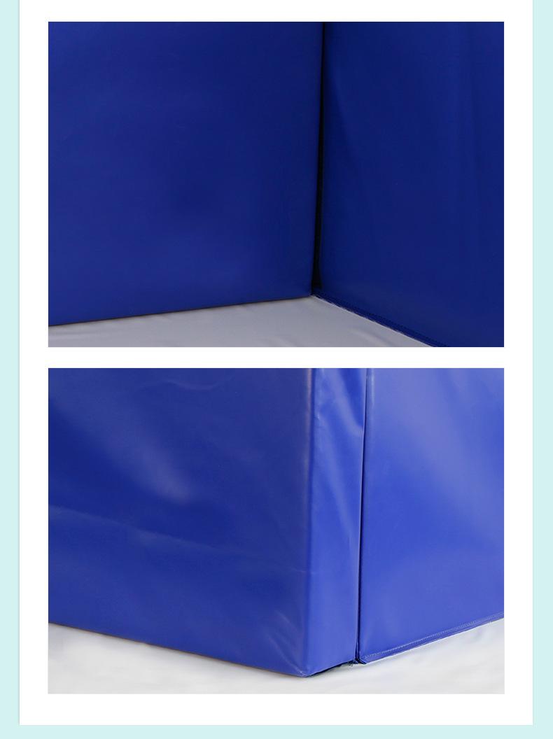 厂家批发儿童软体球池 加厚幼儿园室内围栏长方形组合软体球池示例图7