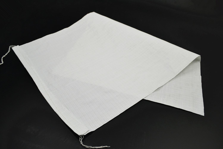 25公斤大米袋  50斤米袋子  大米包装袋  新料加厚半透粮食袋生产批发/白色全新50斤编织袋子