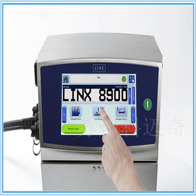 Linx8900 在线小字符喷码机 电线 电缆喷码机 批次号喷字机  线号打码机