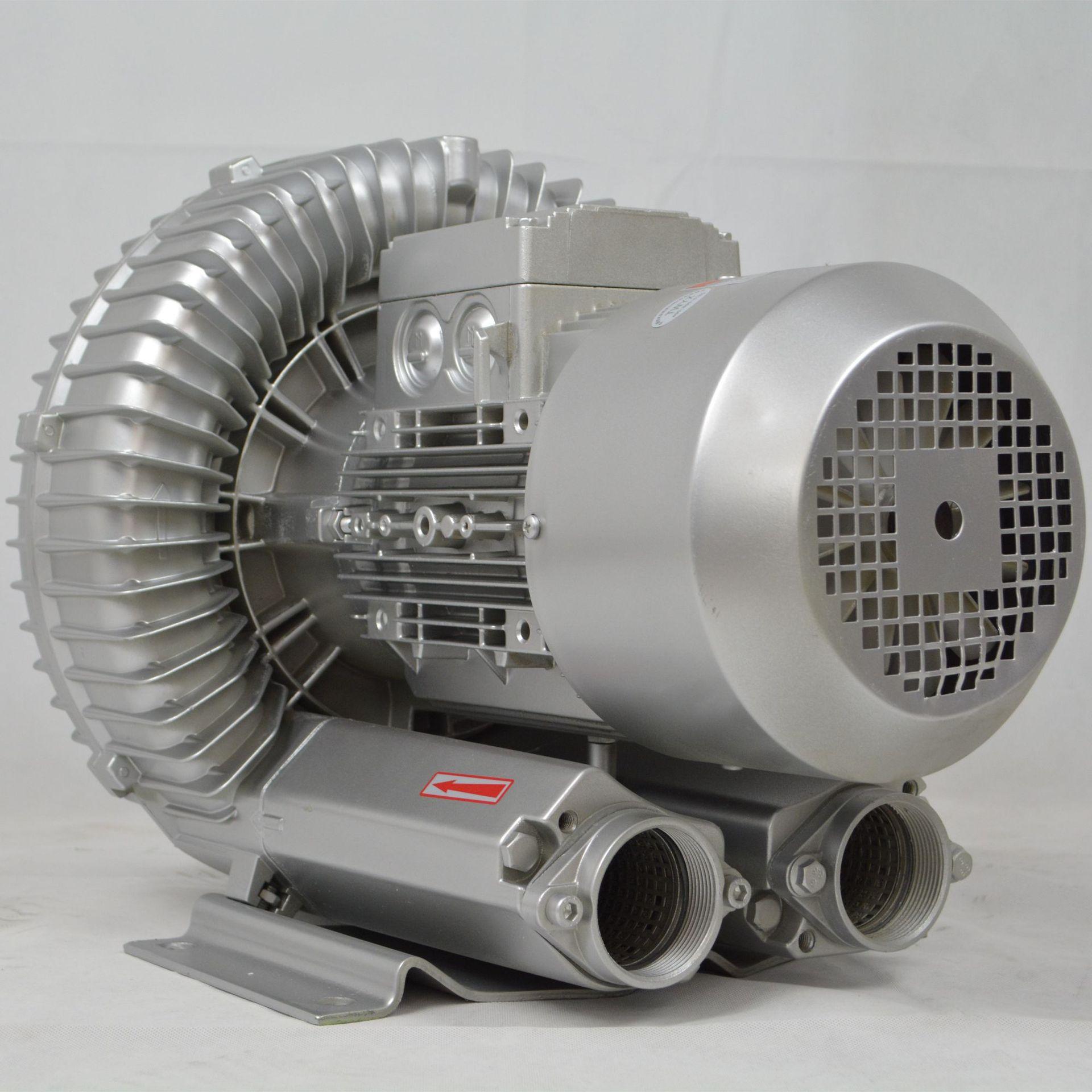 低噪音高壓風機 污水曝氣專用雙葉輪高壓風機 大風量高壓鼓風機示例圖3