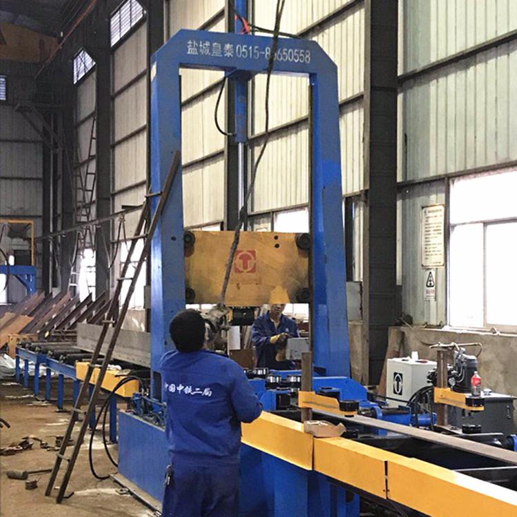 钢结构拼焊矫一体机价格 东台厂家专业生产H型钢拼焊矫一体机示例图3