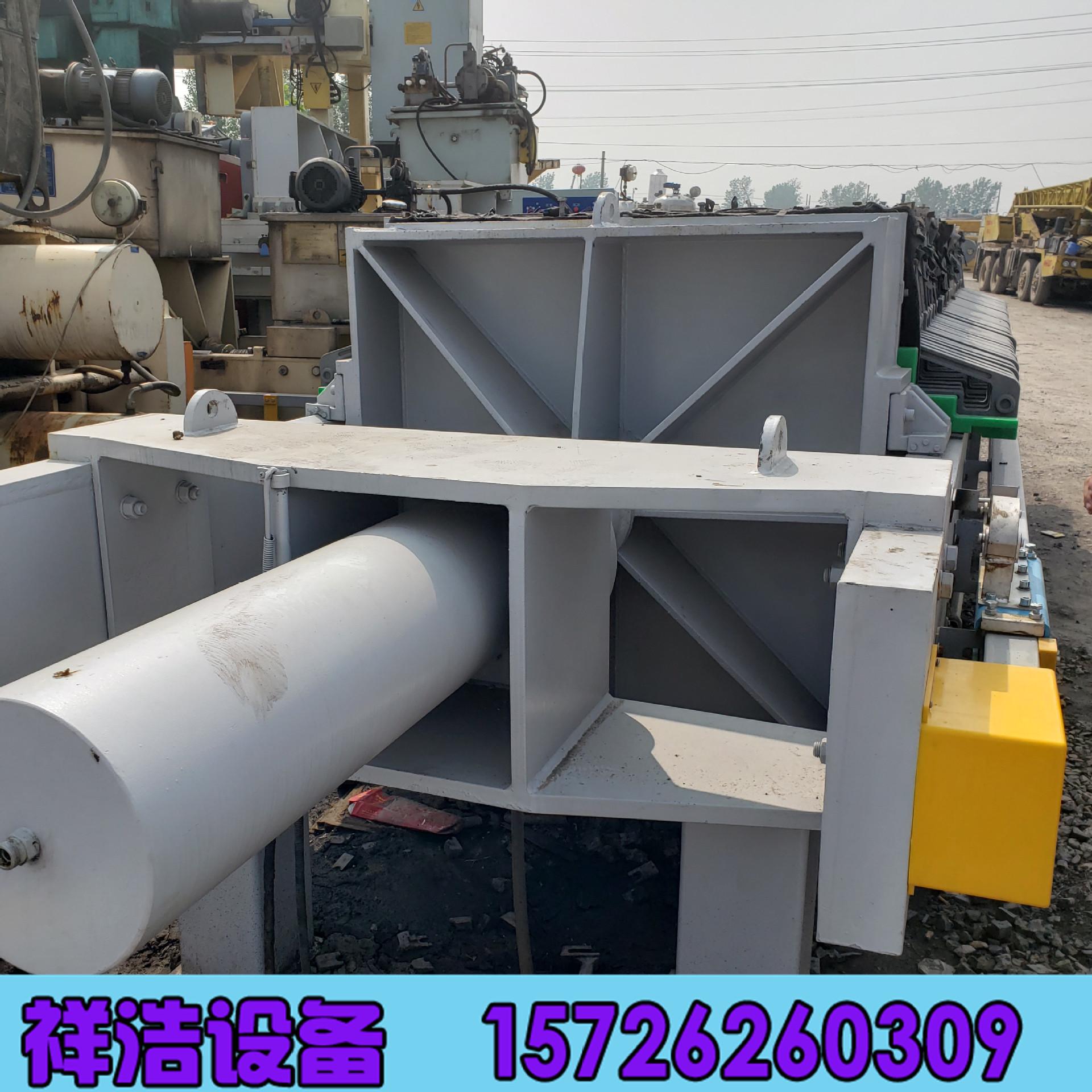 廠家直銷壓濾機 200平方廂式壓濾機 程控隔膜壓濾機 污泥脫水設備示例圖4