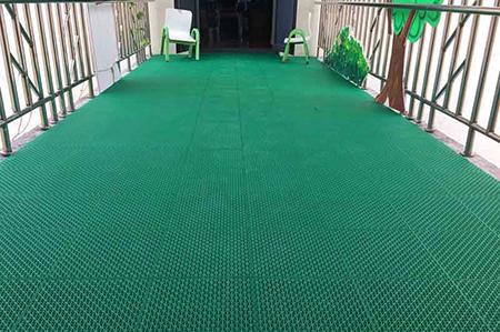 205g窗花彈墊彈性懸浮地板 懸浮式拼裝運動地板報價 小區懸浮式拼裝地板
